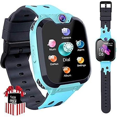 Smart Watch Niños Telefono Estudiante, Realiza Llamadas Mp3 Musica Reloj Infantil Reloj Digital Reloj Despertador Siete juegos Matemáticos Reloj ...