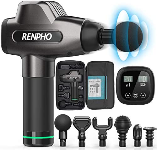 Massage Gun RENPHO C3 Deep Tissue Muscle Massager Powerful Percussion Massager Handheld with product image
