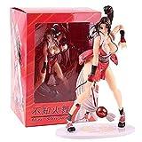YIGEYI MAI Shiranui KOF El Rey de los Luchadores Anime ACCIÓN Figura 23 cm Figuras de PVC Figuras Co...