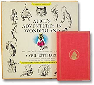Alice's Adventures in Wonderland : The Lewis Carroll Classic Complete on 4 LP Records