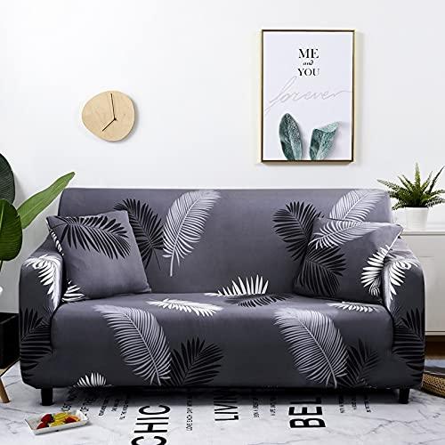 PPOS Fundas de sofá geométricas para Sala de Estar Funda de sofá Moderna para sofá de Dos Formas de Diferentes Formas Funda de sofá de Estilo L Funda de sofá de Dos plazas D9 145-185cm-1pc