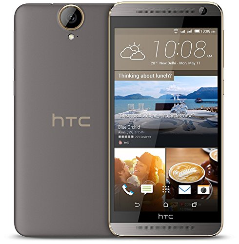 HTC One E9 Dual SIM LTE Schwarz / 5,5 Zoll / Octa-Core / Android OS, v5.0