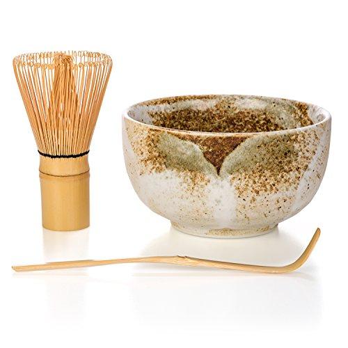 Matcha Tea Ceremony Gift Set with Chasen...