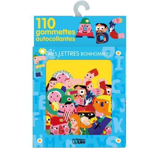 Ma Boite à Gommettes : Mes Lettres Bonshommes - De 3 à 5 ans