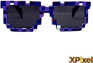c17a55593b Spainbox Gafas de Sol Pixel Unisex para Niños y Adultos - Protección UV400  y CE -