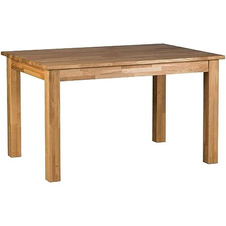 Amazon Brand Lukas Table Chêne sauvage huilé naturel 110 x 70 x 75 cm
