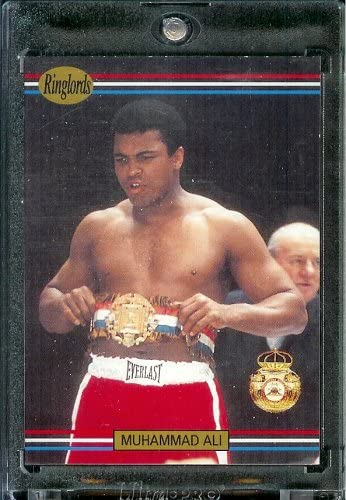 1991 RingLords Muhammad Ali Boxing Card 40 Mint Condition In Protective Display Case product image