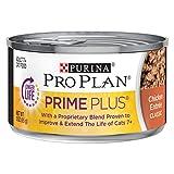 Purina Pro Plan Weight Control, Grain Free Senior Pate Wet Cat Food, PRIME PLUS...