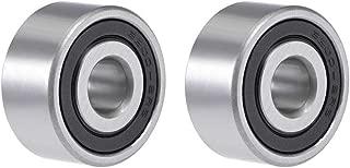 uxcell 3200-2RS Angular Contact Ball Bearing 10X30X14.3mm Sealed Bearings 5200-2RS 2pcs