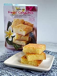Trader Joe's Mochi Cake Mix - Hawaiian Inspired Cake - Gluten Free - NET WT 15Oz