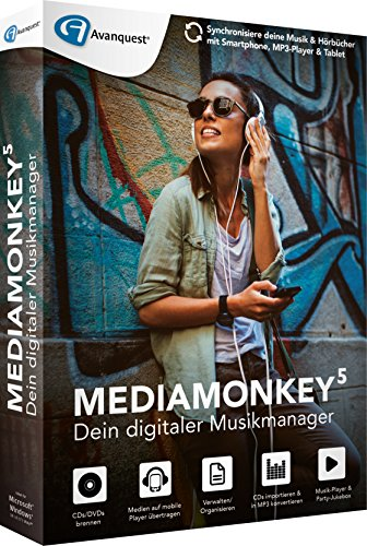 Preisvergleich Produktbild Avanquest Media Monkey 5 Software