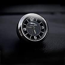 KINBEAR Car Dashboard Trim Clock Interior Accessories High Accuracy Quartz Luminous Dial with Vent Clip Christmas Gift