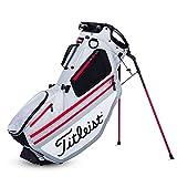 Titleist Hybrid 14 Golf Bag Silver / White / Red