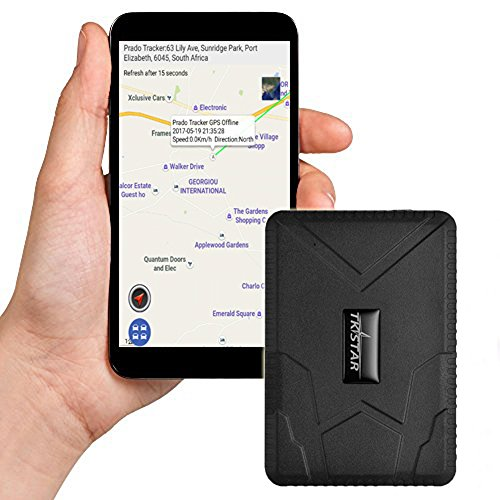 Forte magnétique véhicule GPS Tracker Installation sans Bus GPS Locator espion/Cache/10000 mAh Secrets Anti Vol Appareil de Voiture avec Application Libre Real-Time Alarme tk915