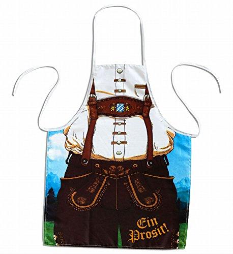 Widmann 9438M – Herrenschürze Bavaria, bayerischer Mann, Grillschürze, Bierkrug, Oktoberfest, Volksfest, Grillparty, Motto Party, Karneval