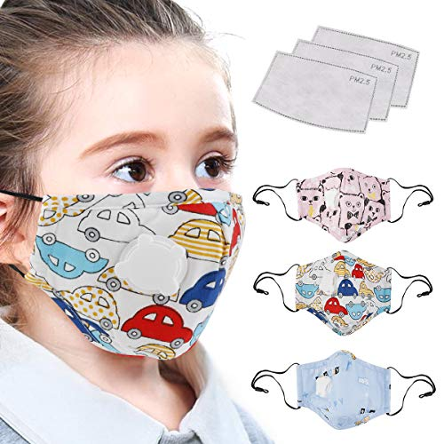 TOP 10 Cute Anti Germs, Dust proof, Anti Bacterial, Anti Virus Face Mouth Masks for Children 2020 - cover