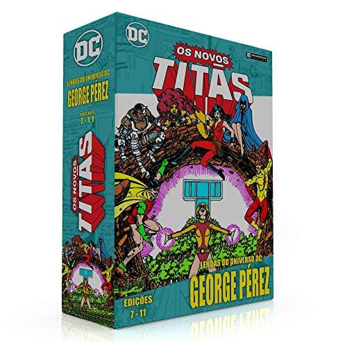 BOX PARA COLEÇÃO: LENDAS DO UNIVERSO DC NOVOS TITÃS (07 a 11) (SOMENTE A CAIXA)