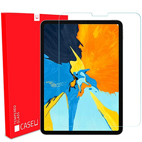 Case U Tempered Glass Screen Protector for Apple iPad Pro 11 inch (2020/2018) and iPad Air 4 10.9 inch (2020, 4th Generation)