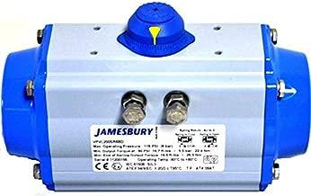 Jamesbury VPVL200DABD Rack and Pinion Actuator, Size 200, Aluminum