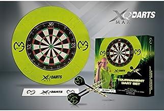 XQ Max Michael Van Gerwen MvG Tournament Dartboard Steel Tip Darts Set