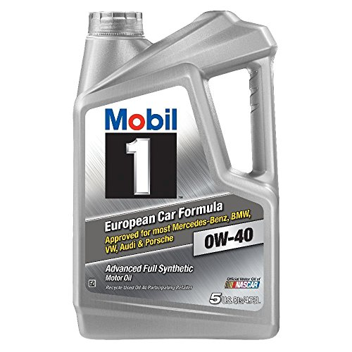 Mobil 1 120760 Synthetic Motor Oil 0W-40 (2-Pack)