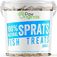 100% NATURAL & PACKED FULL OF GOODNESS! – Our Baltic dried sprats are naturally air dried to lock in the delicious fishy taste and preserve the naturally occurring vitamins & minerals associated with sprats. High in Omega Fatty Acids, these treats ar...