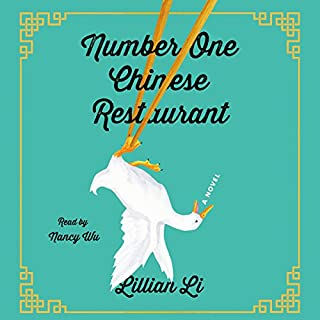 Number One Chinese Restaurant audiobook cover art