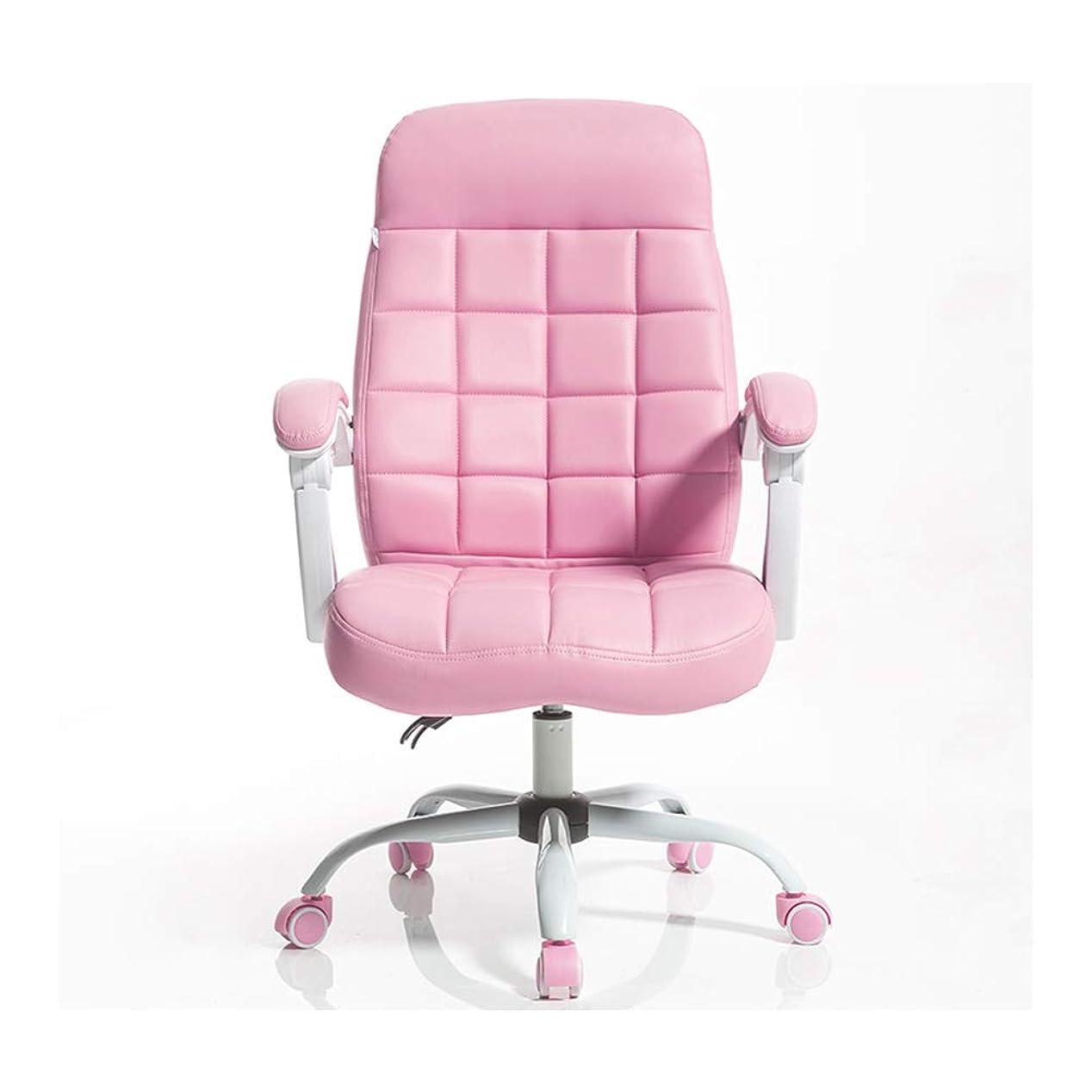 所得感謝する温度人間工学に基づいたリクライニングチェアのオフィス用コンピュータチェア、高さ調節可能なEスポーツゲームの回転椅子、フットレストとランバー