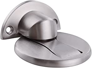 KES SUS 304 Stainless Steel Magnetic Door Stop Door Catch Metal Door Holder Doorstop Heavy Duty Brushed Finish, HDS212-2