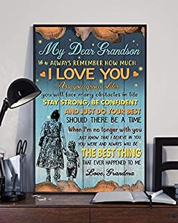 dear grandson poster