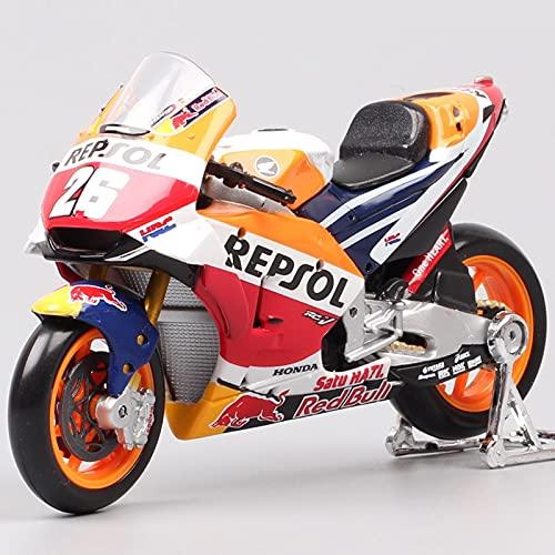 Modellini auto 1 18 Bilancia 2018 Repsol Rc213v Hrc No #26 Dani Pedrosa No #93 Marc Marquez Moto Bici Da Corsa Gp Diecast Model Toy