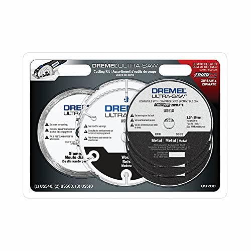Dremel US700 Ultra-Saw 6-Piece Cutting Wheel Kit, White