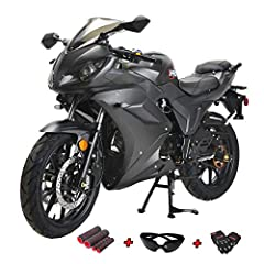"""Front and Rear Disc brake supply strong, reliable stopping power. 16"""" rims and 23"""" front and rear tires offer great traction. Wide, thickly padded seat ensures incomparable rider and passenger comfort and style. Large headlight and Tail light maximiz..."""