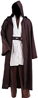 Halloween Tunic Costume Set Cosplay Outfit Brown with White