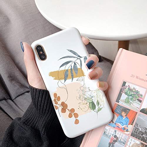 WGOUT Divertida Funda Art Line para Huawei P40 Lite E P30 P20 P10 Mate 10 20 30 Lite Pro Plus P Smart 2020 Y6 Y7 Y9 2019 SZ TPU Funda, Kbd98, xlianhye, P Smart