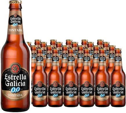 Estrella Galicia 0,0 Tostada Pack 24x25cl