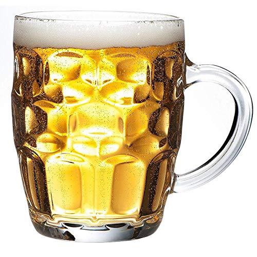 Juego de 4 tarros para cerveza 580ml