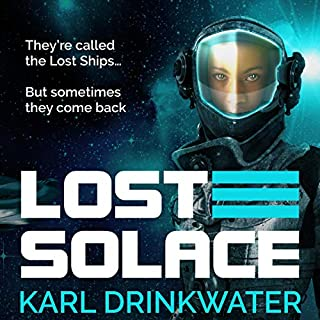 Lost Solace audiobook cover art