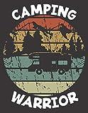 Diario de viaje en caravana: Tu libro personal  de recorridos para viajes en caravana y camping ♦ formato A4+ ♦ motivo: Camping warrior retro rund
