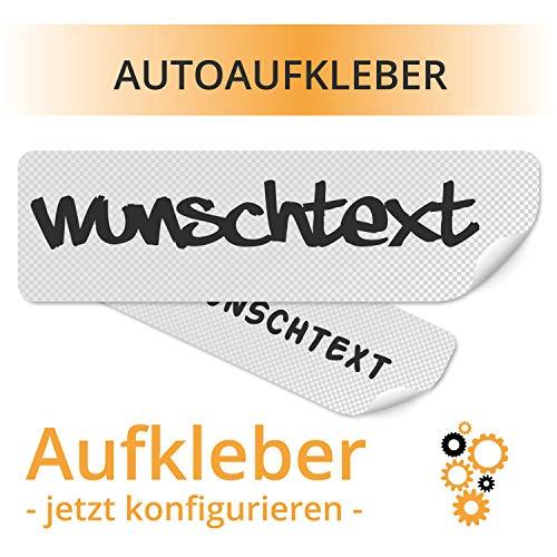 Autoaufkleber Fahrzeugbeschriftung Heckscheibenaufkleber Car Sticker Wunschname Autobeschriftung PKW Aufkleber