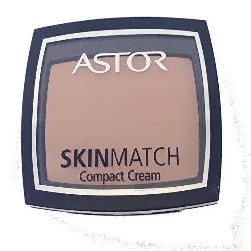 Astor Skin Match Compact Cream Powder-302 Deep Beige