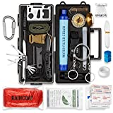 20 in 1 Survival Kit by Pathway North, Tactical Gear for Men and Women, Bugout Bag Survival Kit, Emergency Kit for Disaster, Camping, Boat, Hunting, Hiking, Car, and Adventures