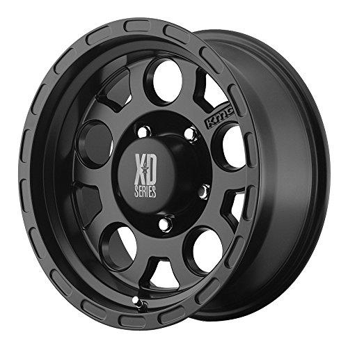 "XD Series by KMC Wheels XD122 Enduro Matte Black Wheel (17x9""/6x139.7mm, -6mm offset)"
