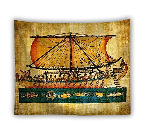 WERT Decoración para el hogar Manta Arte Colgante de Pared Tapiz Cubierta de Pared Mantel sábana Grande Tapiz de Playa Estera de Yoga A5 95x73 cm