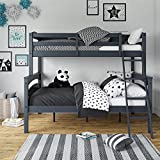 Dorel Living Brady Twin over Full Solid Wood Kid's Bunk Bed...