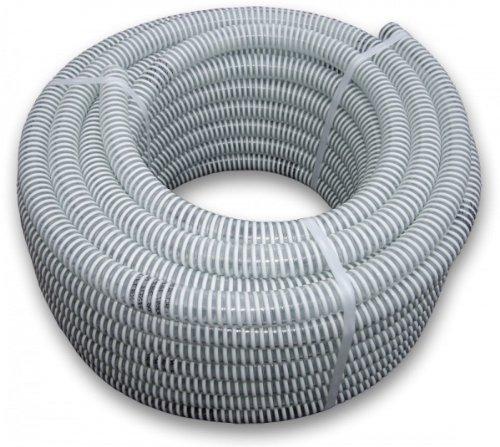 Bradas saf19 Tuyau d'aspiration/Impression Tuyau, Ali Flex, Longueur : 25 m, 7 Bar, diamètre 19 mm, Blanc, 40 x 40 x 20 cm