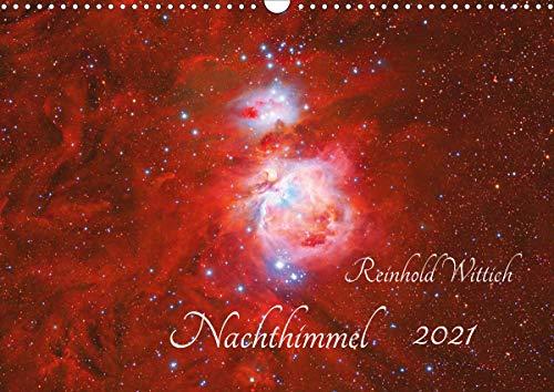 Nachthimmel (Wandkalender 2021 DIN A3 quer)
