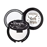 Manic Panic Goth White Cream-to-Powder Foundation Bundle with Vampyre's Veil White Pressed Powder Virgin