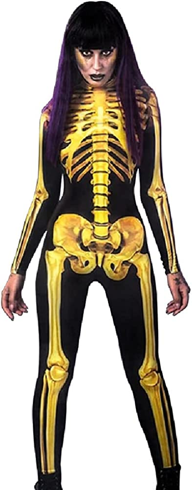 Quenny New Halloween Mail order cheap women's costumes human Finally popular brand tig cosplay skeleton