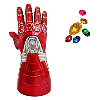 Haho Iron Man Infinity Gauntlet Glove with Removable Infinity Stones  Kids